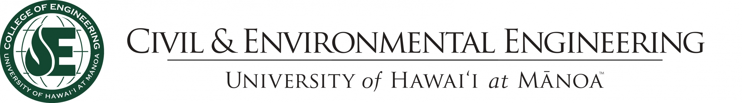 Civil & Environmental Engineering Department- University of Hawaii at Manoa